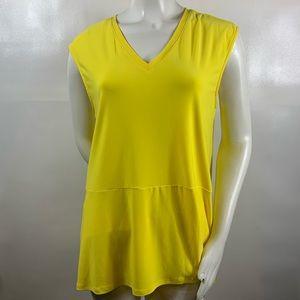 3For$20 Preston & York Yellow sleeveless top XL